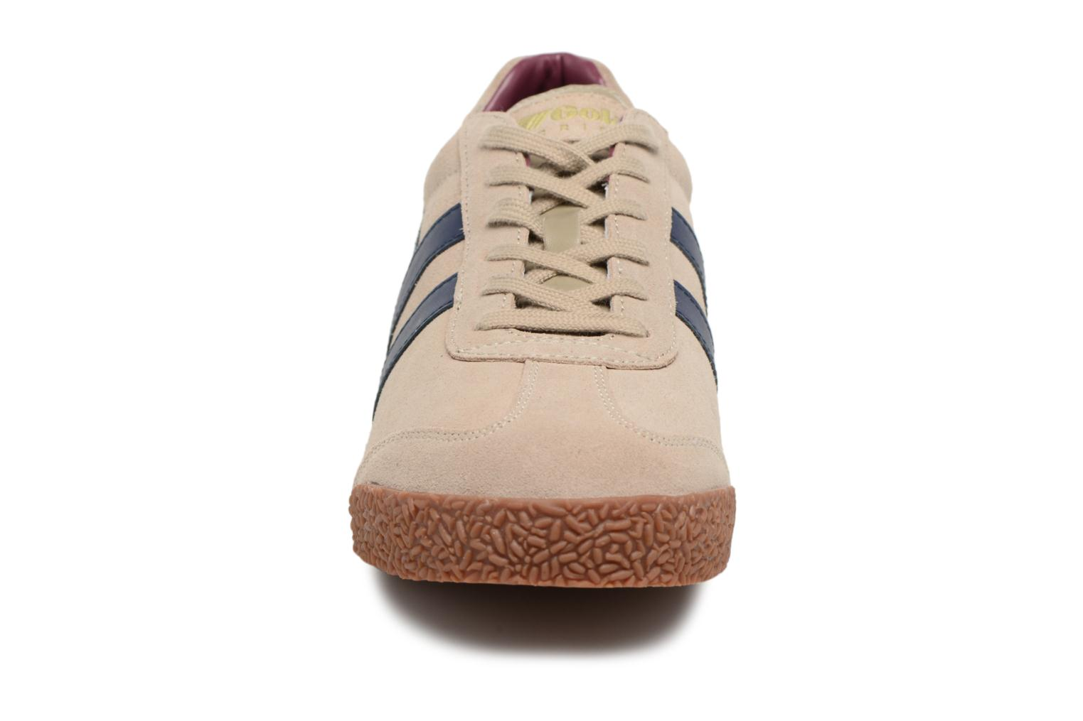 Trainers Gola Harrier Grey model view