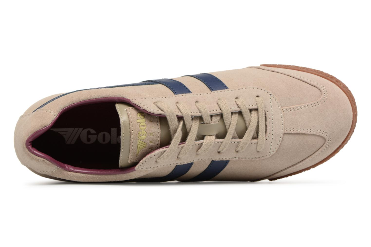 Trainers Gola Harrier Grey view from the left