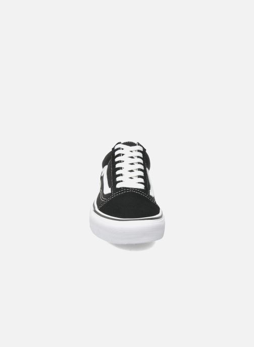 Sneakers Vans Old Skool W Nero modello indossato