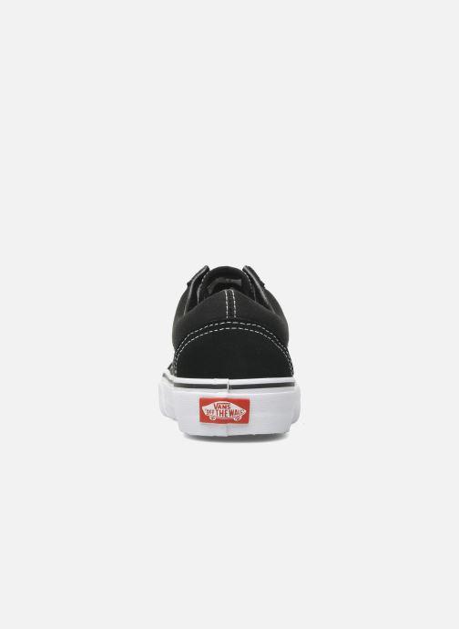Sneaker Vans Old Skool W schwarz ansicht von rechts
