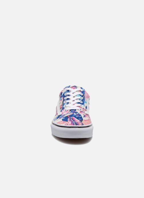 Baskets Vans Old Skool W Multicolore vue portées chaussures