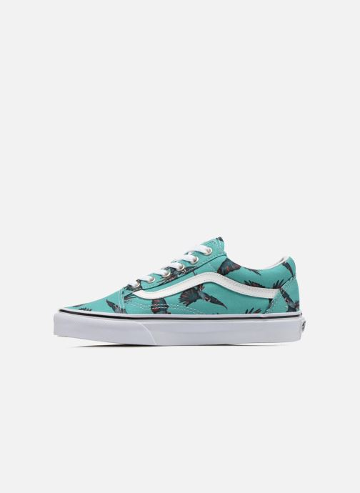 Skool true Old White Vans Wdirty BirdTurquoise 9IEDWHY2