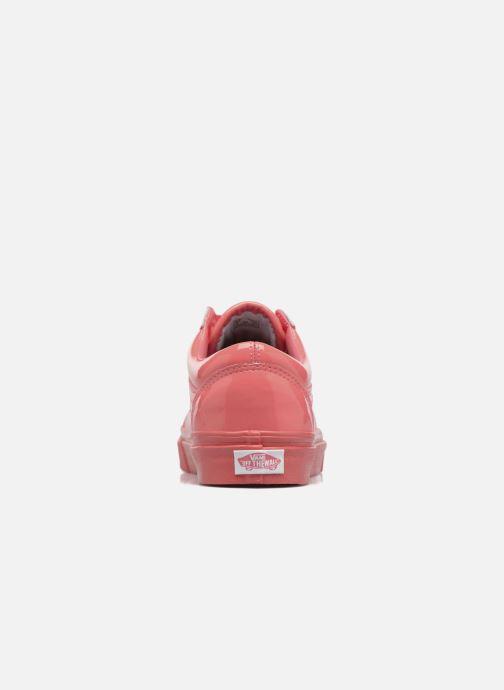 Sneaker Vans Old Skool W rosa ansicht von rechts