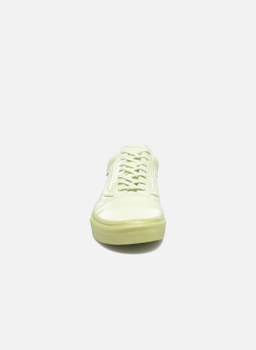 Sneaker Vans Old Skool W grün schuhe getragen