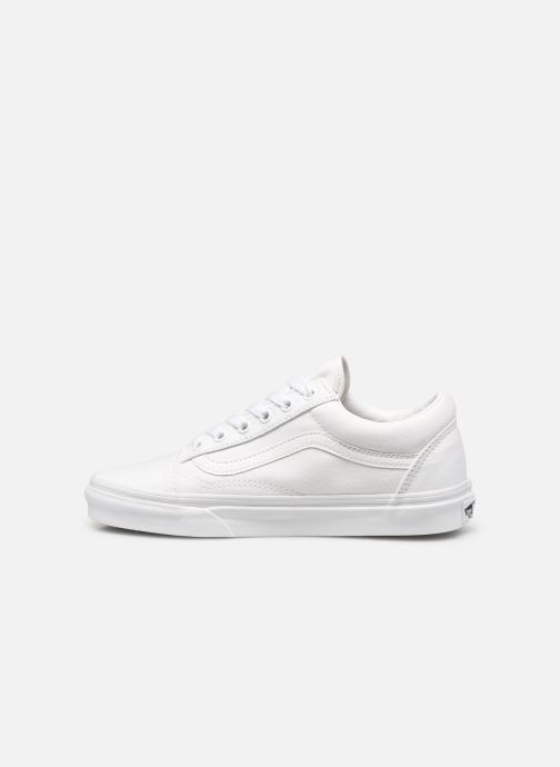 Baskets Vans Old Skool W Blanc vue face