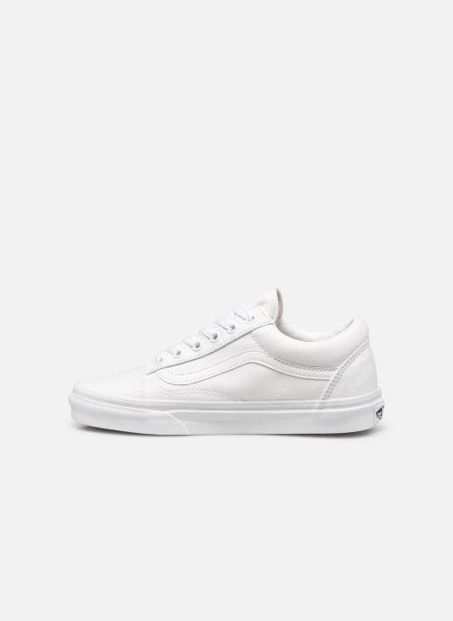 Sneaker Vans Old Skool W weiß ansicht von vorne
