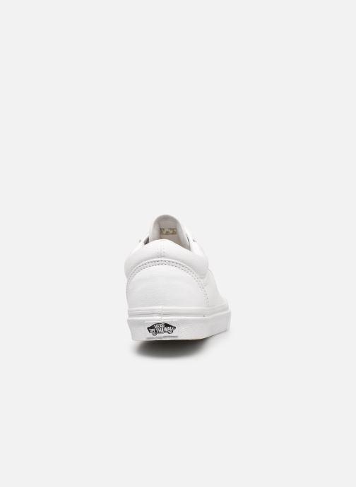Sneaker Vans Old Skool W weiß ansicht von rechts