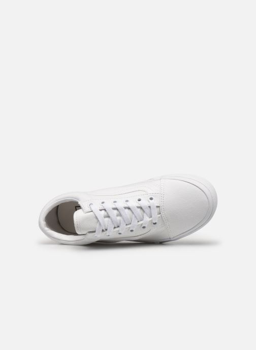 Baskets Vans Old Skool W Blanc vue gauche