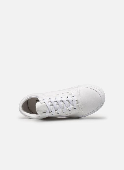 Sneakers Vans Old Skool W Bianco immagine sinistra