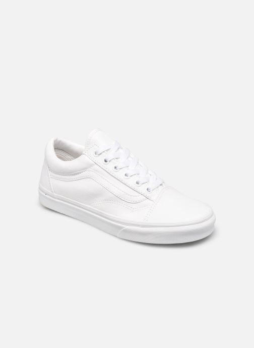 Baskets Vans Old Skool W Blanc vue détail/paire