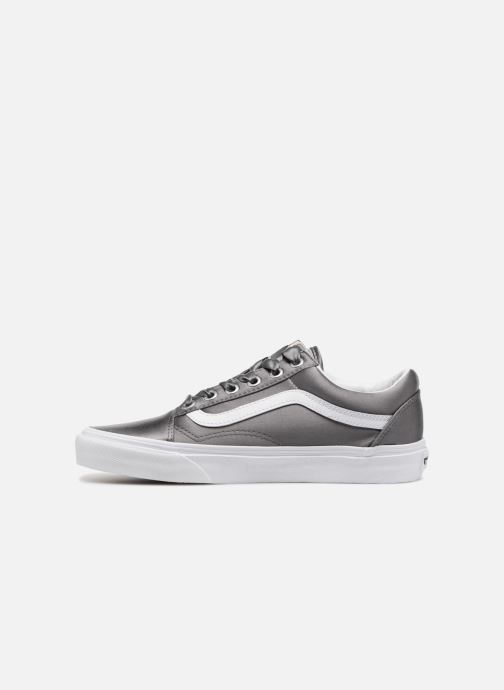 Baskets Vans Old Skool W Gris vue face