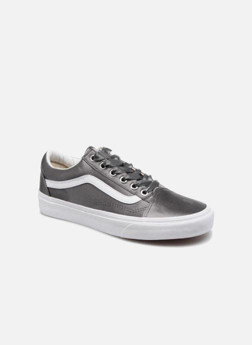 Baskets Vans Old Skool W Gris vue détail/paire