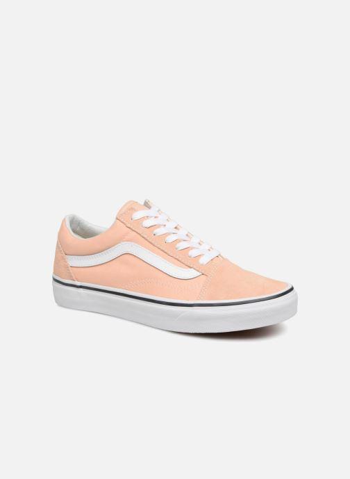 Baskets Vans Old Skool W Orange vue détail/paire