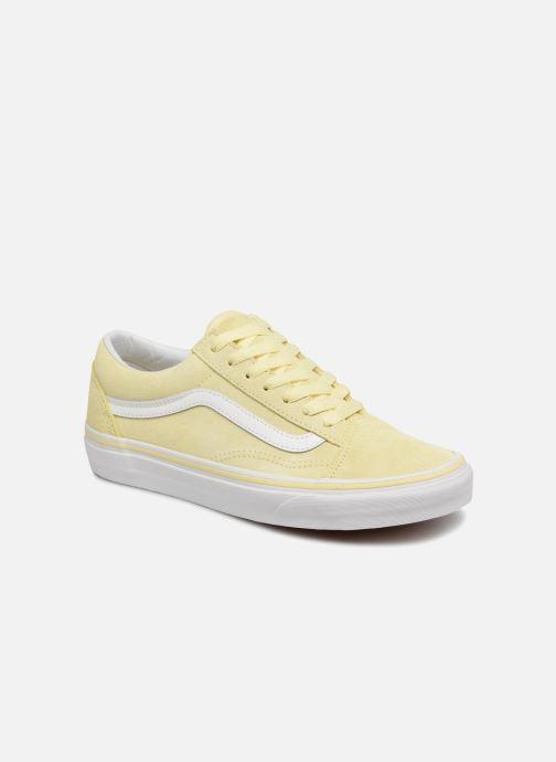 eb32cdd4 Sneakers Vans Old Skool W Gul detaljeret billede af skoene