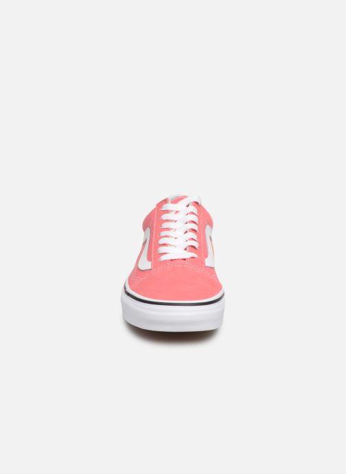 Baskets Vans Old Skool W Rose vue portées chaussures