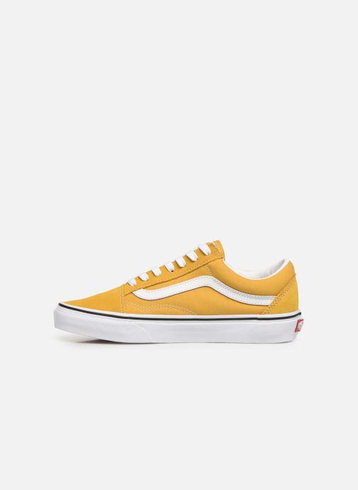 Sneaker Vans Old Skool W gelb ansicht von vorne
