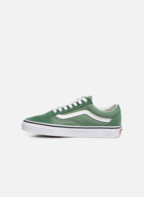 Sneakers Vans Old Skool W Grön bild från framsidan