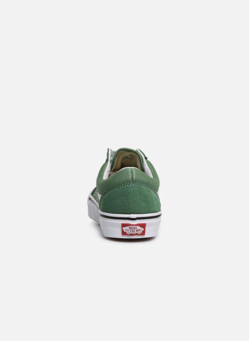 Sneakers Vans Old Skool W Grön Bild från höger sidan