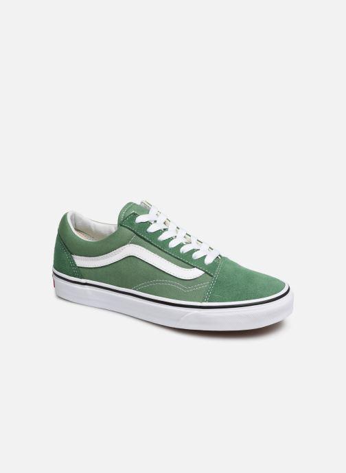 Sneakers Vans Old Skool W Grön detaljerad bild på paret