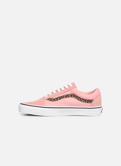 Sneaker Vans Old Skool W rosa ansicht von vorne
