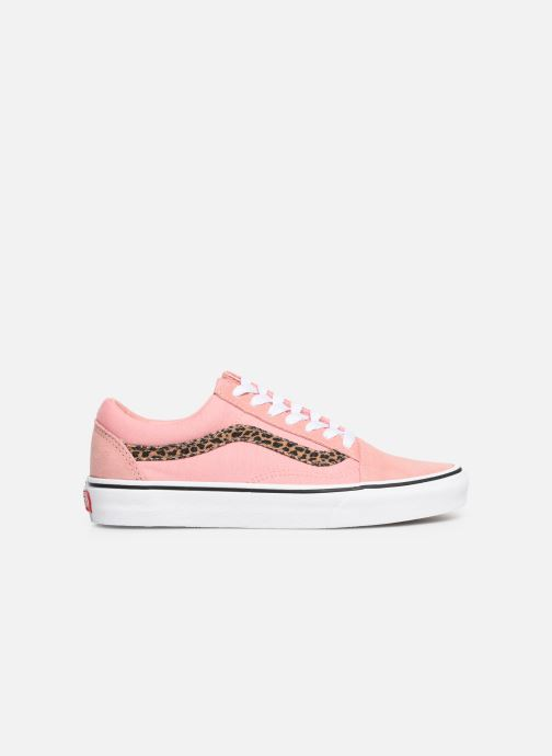 Sneaker Vans Old Skool W rosa ansicht von hinten