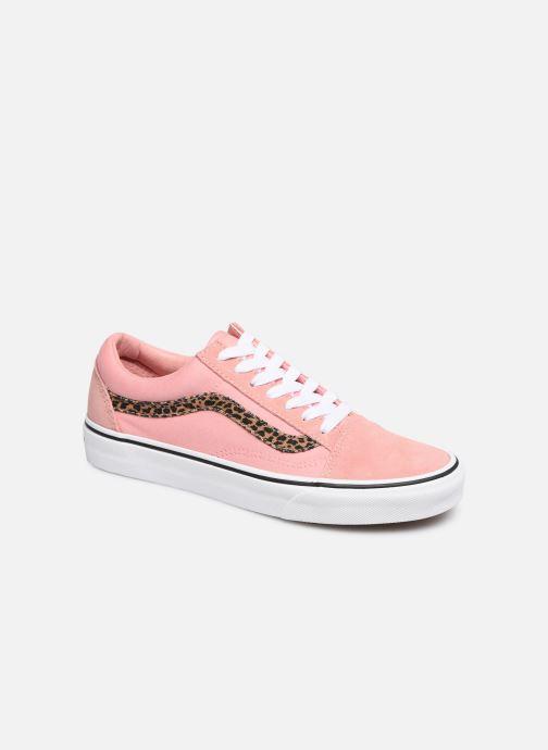 Sneaker Vans Old Skool W rosa detaillierte ansicht/modell