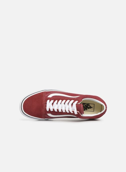 Baskets Vans Old Skool W Bordeaux vue gauche