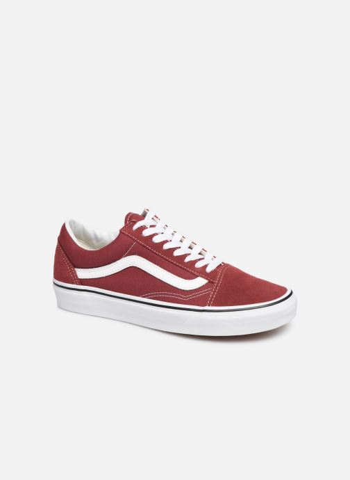 Baskets Vans Old Skool W Bordeaux vue détail/paire