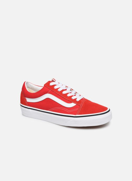 Sneaker Vans Old Skool W rot detaillierte ansicht/modell