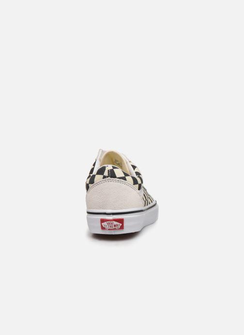 Sneakers Vans Old Skool W Wit rechts