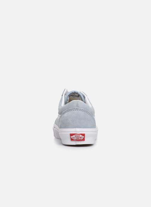 Sneaker Vans Old Skool W blau ansicht von rechts