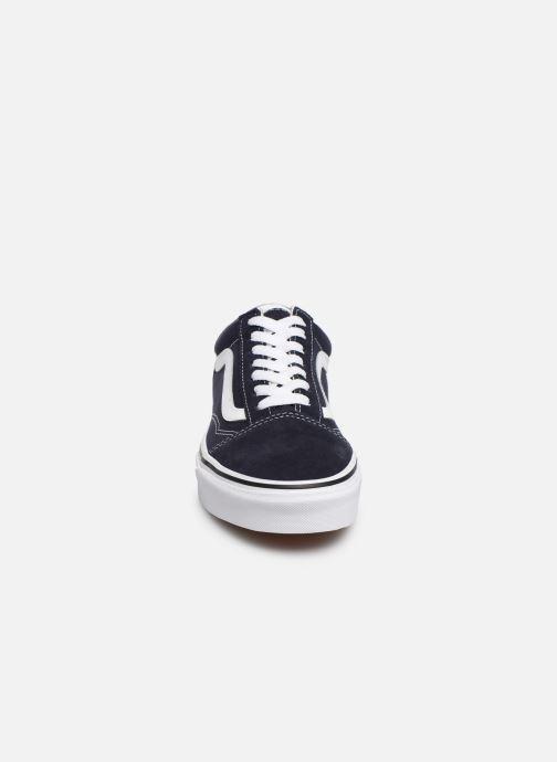 Baskets Vans Old Skool W Bleu vue portées chaussures