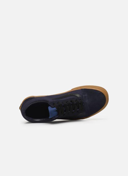 Baskets Vans Old Skool W Bleu vue gauche