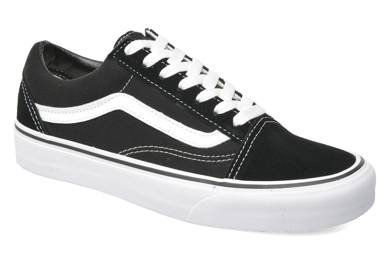 Vans Old Skool W (Noir) - Baskets en Más cómodo Dernières chaussures discount pour hommes et femmes