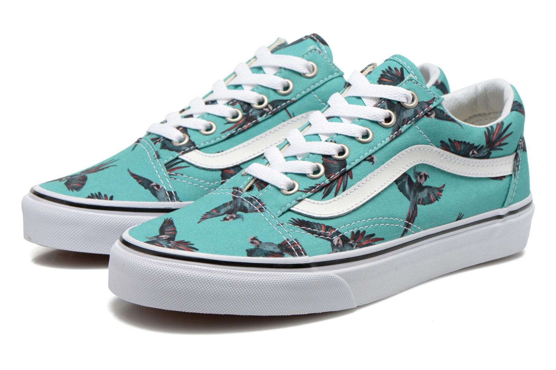 Sneakers Vans Old Skool W Verde immagine 3/4