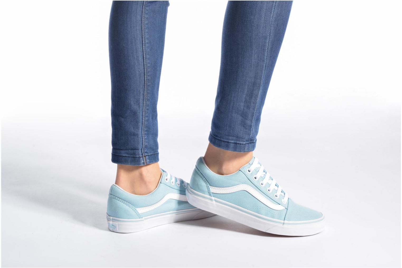 Sneakers Vans Old Skool W Blå bild från under