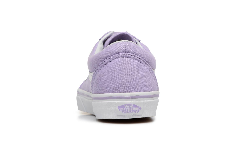 Sneakers Vans Old Skool W Paars rechts