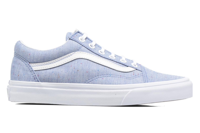 Sneakers Vans Old Skool W Blå se bagfra
