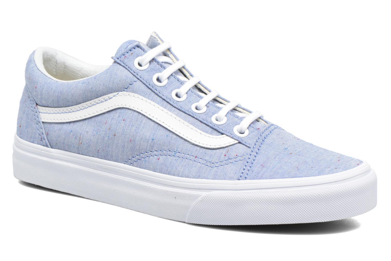 Sneakers Vans Old Skool W Blå detaljeret billede af skoene