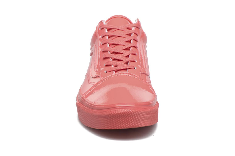 Sneaker Vans Old Skool W rosa schuhe getragen