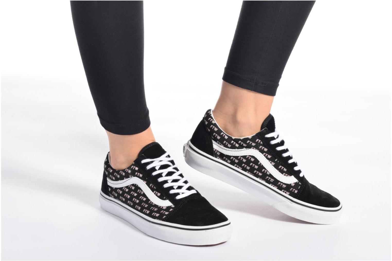 Sneakers Vans Old Skool W Verde immagine dal basso