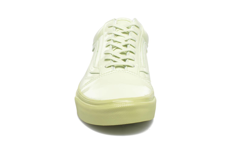 Sneakers Vans Old Skool W Verde modello indossato