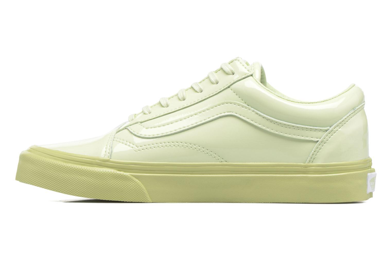 Sneakers Vans Old Skool W Verde immagine frontale