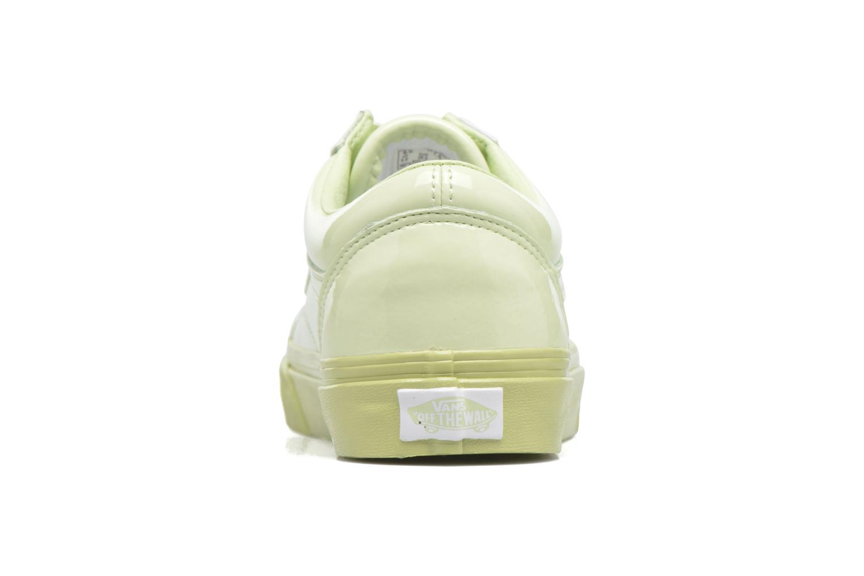 Sneakers Vans Old Skool W Grøn Se fra højre