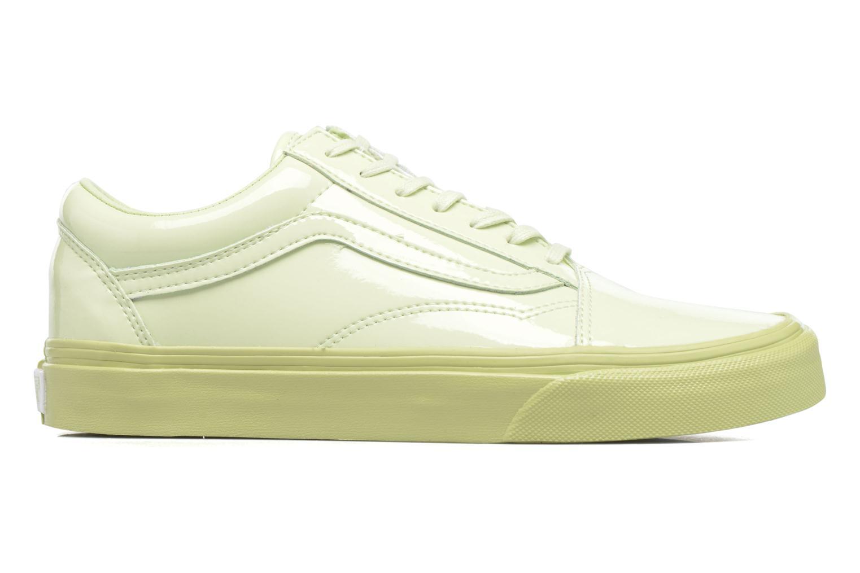 Sneakers Vans Old Skool W Grøn se bagfra