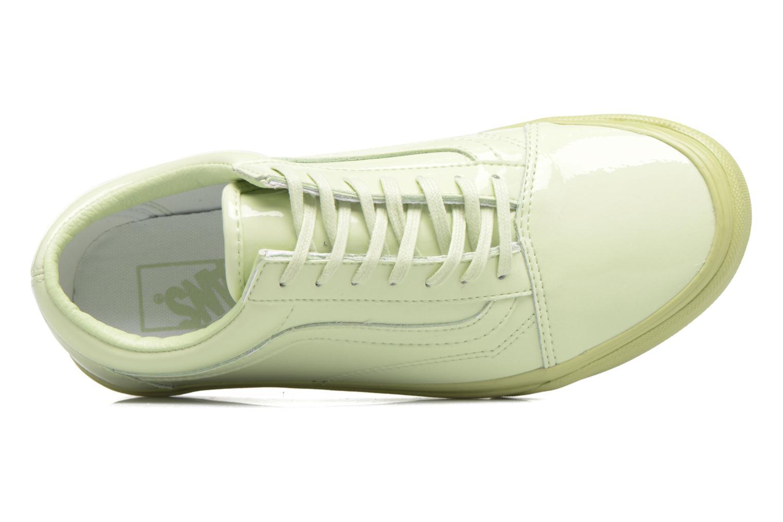 Sneakers Vans Old Skool W Verde immagine sinistra