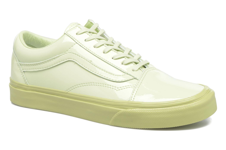 Sneakers Vans Old Skool W Grøn detaljeret billede af skoene