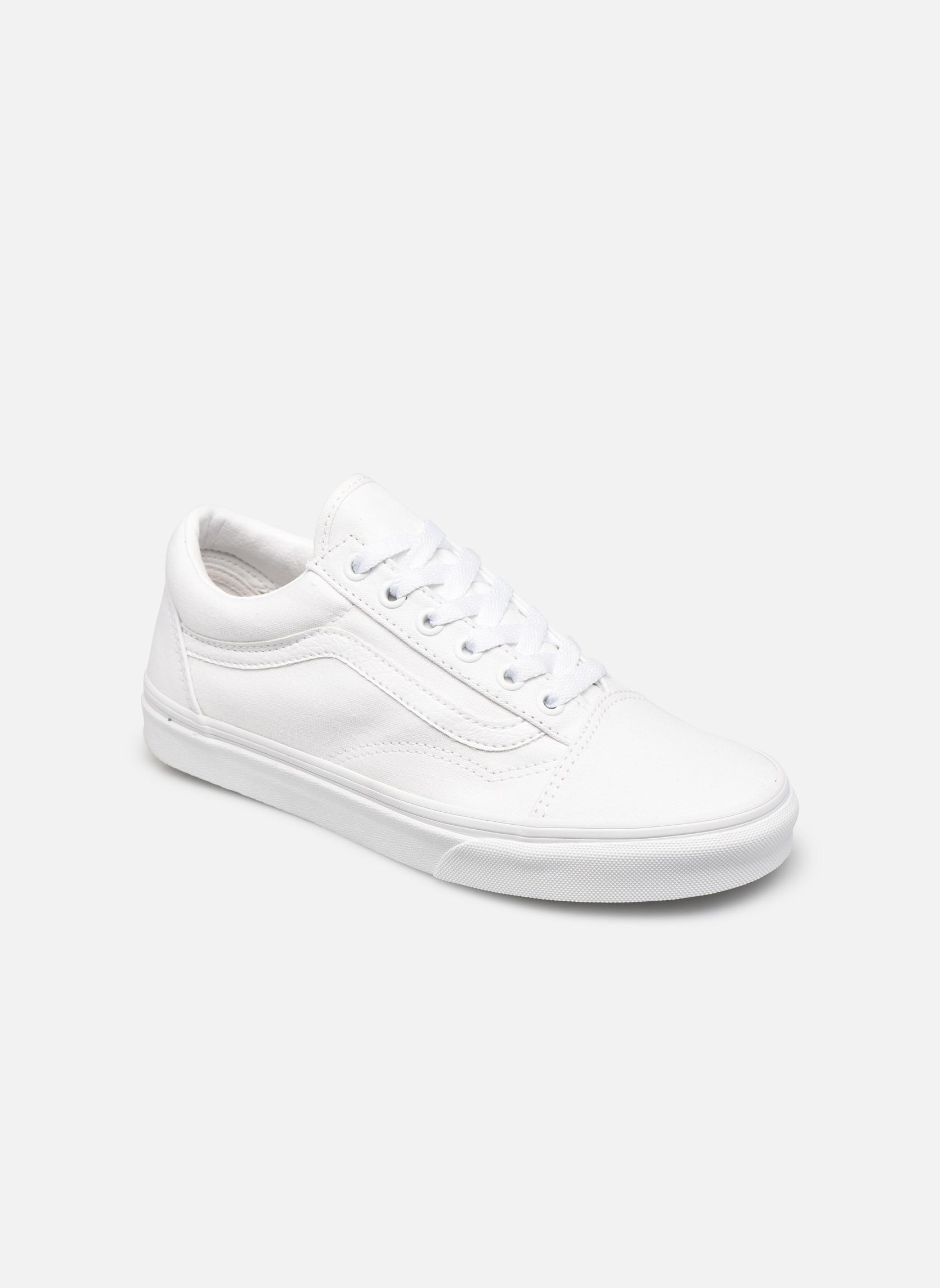 7eefeed56 Vans Old Skool W (Blanco) - Deportivas en en en Más cómodo Nuevos zapatos  para hombres y mujeres