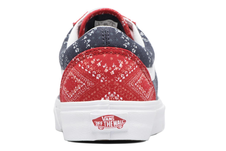 Sneakers Vans Old Skool W Blå Bild från höger sidan