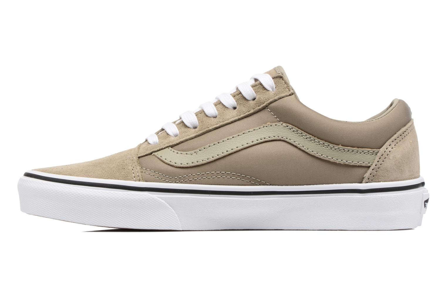 Baskets Vans Old Skool W Beige vue face